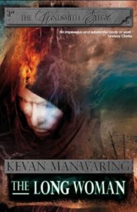 The Long Woman by Kevan Manwaring cover 2012