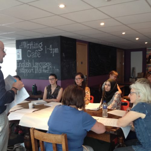 Our National Writing Day Short Story Workshop with Jamie Edgecombe