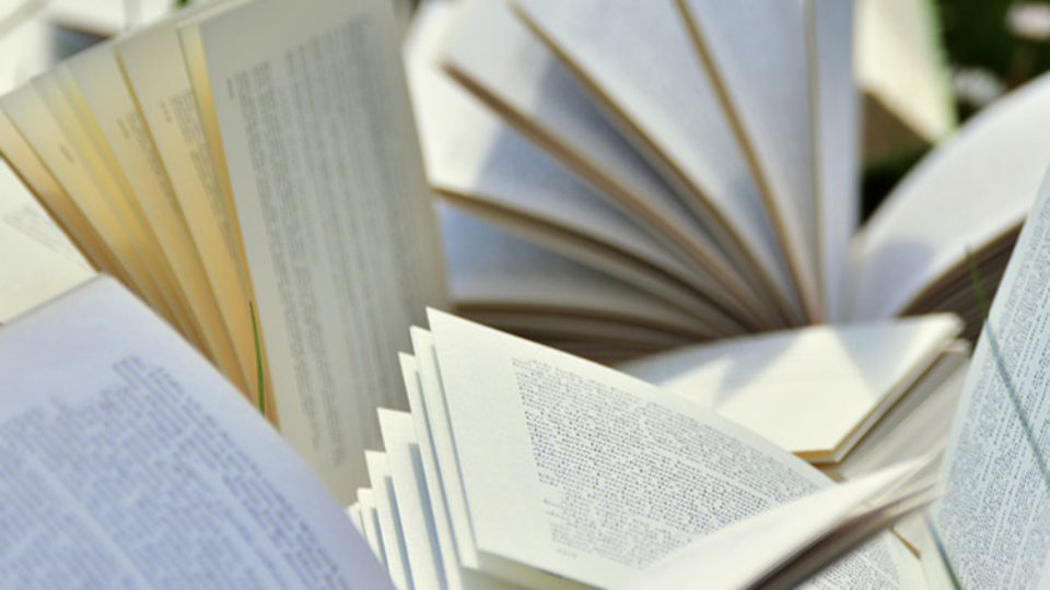 Book pages featured