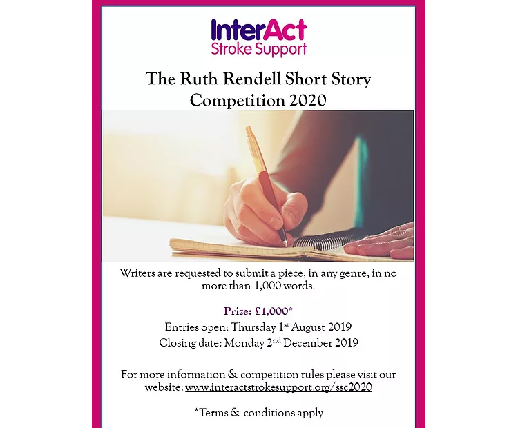 The Ruth Rendell Short Story Competition 2020 - Literature