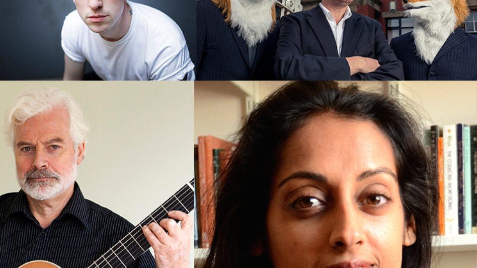 Bodmin Moor Poetry festival collage