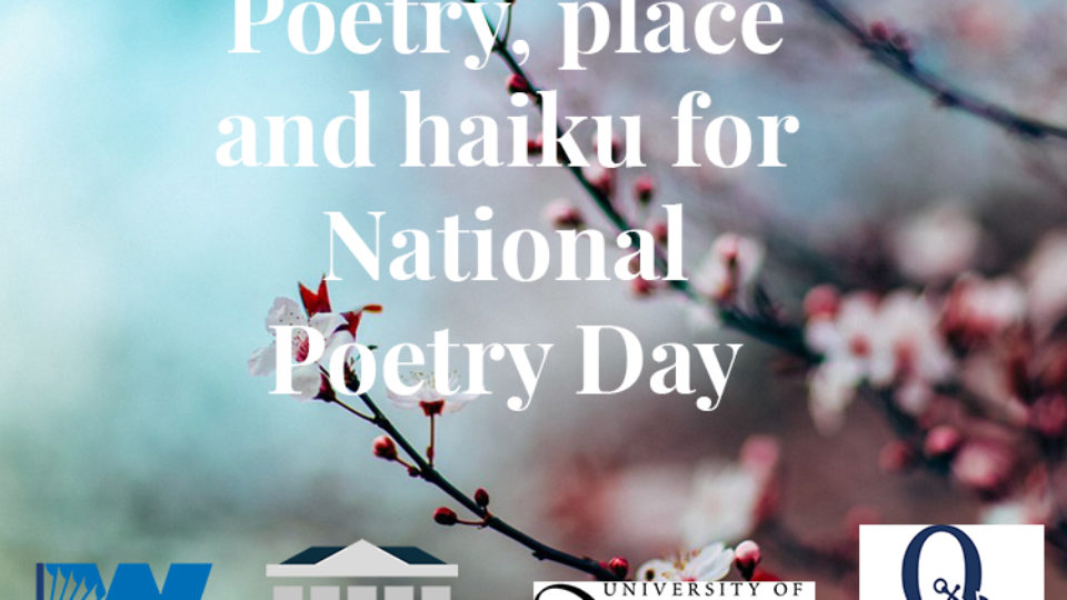Poetry, Place and Haiku event