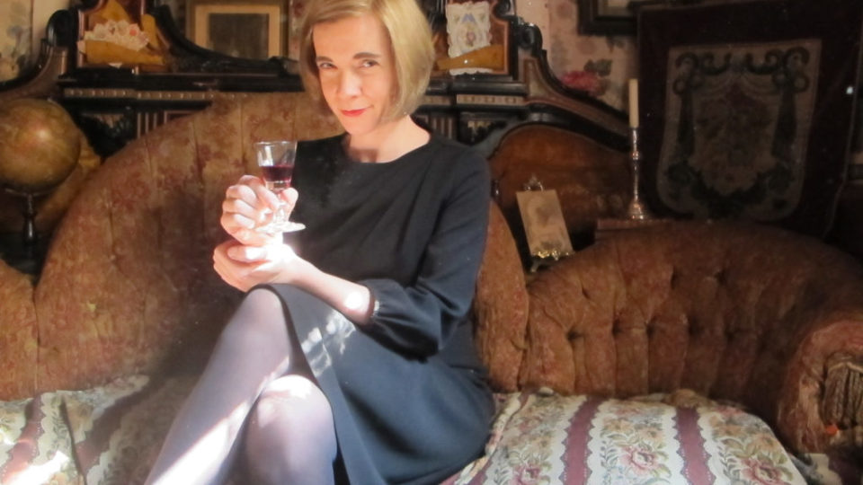 Lucy Worsley looking murderous