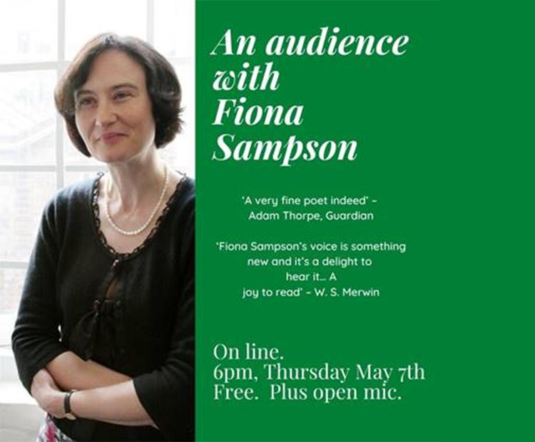 Cheltenham Poetry Festival Reading By Fiona Sampson Literature Works Sw Nurturing Literature Development Activity In South West England
