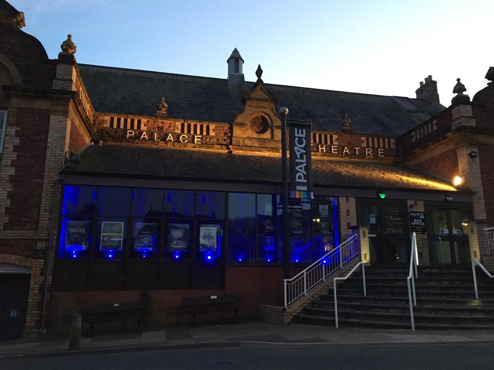 theatre blue lights