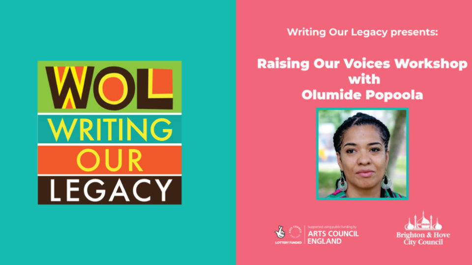 Writing Workshop with Olumide Popoola Facebook