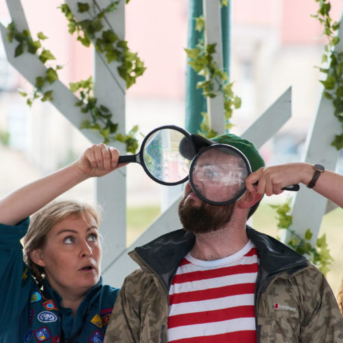 Paddleboat Theatre Company perform Rustle